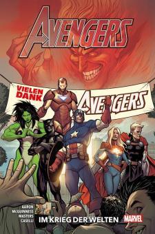 Avengers Paperback (2020) 4: Im Krieg der Welten (Hardcover)