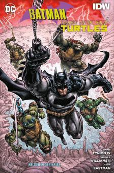 Batman / Teenage Mutant Ninja Turtles: Helden in der Krise