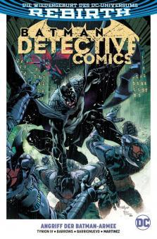 Batman - Detective Comics (Rebirth) Paperback 1: Angriff der Batman-Armee
