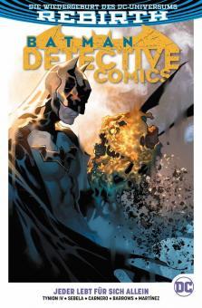 Batman - Detective Comics (Rebirth) Paperback 5: Jeder lebt für sich allein