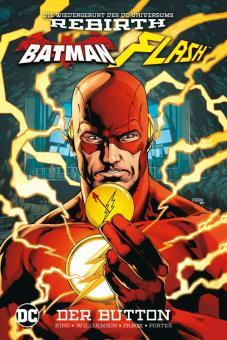 Batman/Flash: Der Button Hardcover (mit Flash-Button)
