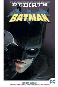Batman (Rebirth) Paperback 1: Ich bin Gotham (Hardcover, mit Blechschild)