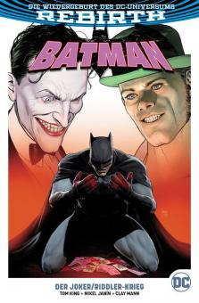 Batman (Rebirth) Paperback 4: Der Joker/Riddler-Krieg