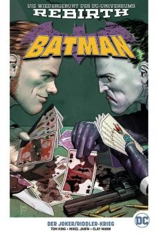 Batman (Rebirth) Paperback 4: Der Joker/Riddler-Krieg (Hardcover)