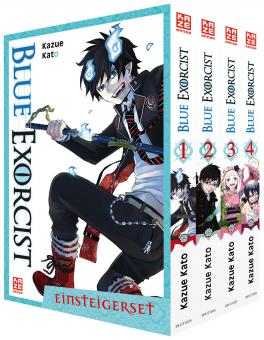 Blue Exorcist Einsteiger-Set (Band 1-4)