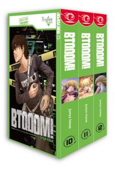 BTOOOM! Box 4 (Band 10-12 im Schuber)