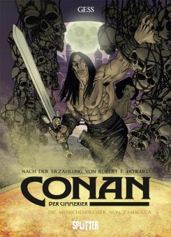 Conan - Der Cimmerier Die Menschenfresser von Zamboula