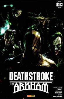 Deathstroke in Arkham