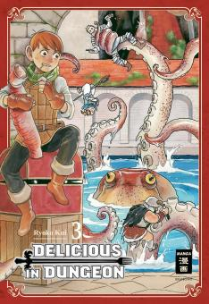 Delicious in Dungeon Band 3