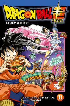 Dragon Ball Super 11: Die große Flucht