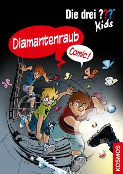 drei ??? - Kids (Comic) Diamantenraub
