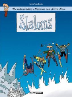 erstaunlichen Abenteuer von Herrn Hase 1: Slaloms