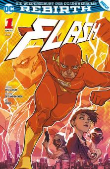 Flash (Rebirth) 1: Die Flash-Akademie