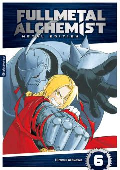 Fullmetal Alchemist (Metal Edition) Band 6