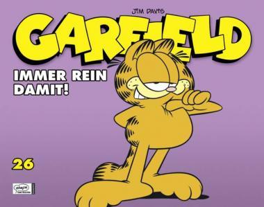 Garfield (Softcover) 26: Immer rein damit!
