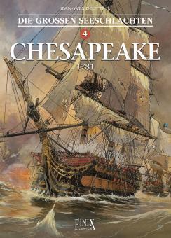 Großen Seeschlachten 4: Chesapeake - 1781