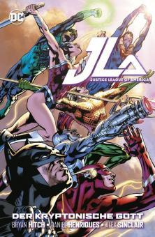 Justice League of America: Der kryptonische Gott Softcover