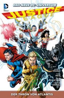 Justice League Paperback 3: Der Thron von Atlantis (Softcover)