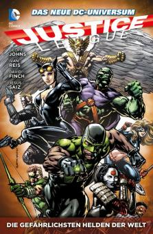 Justice League Paperback 4: Die gefährlichsten Helden der Welt (Softcover)