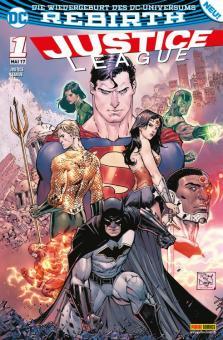Justice League (Rebirth) 1