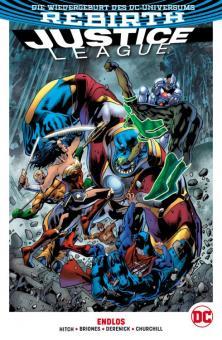 Justice League (Rebirth) Paperback 4: Endlos