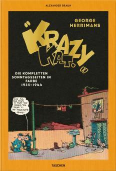 Krazy Kat - Die kompletten Sonntagsseiten in Farbe 1935-1944