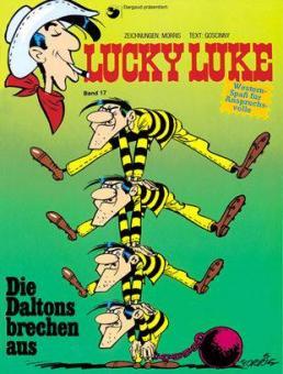 Lucky Luke (HC) 17: Die Daltons brechen aus