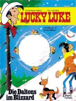 Lucky Luke (HC) 25: Die Daltons im Blizzard