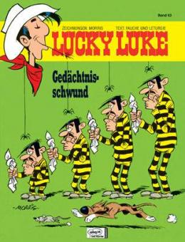 Lucky Luke (HC) 63: Gedächtnisschwund