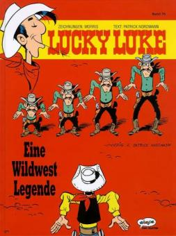 Lucky Luke (HC) 76: Eine Wildwest Legende