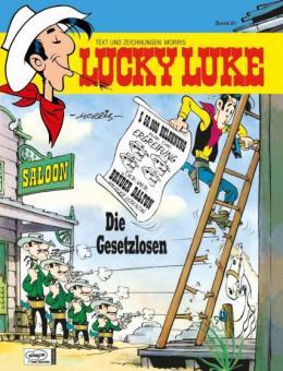 Lucky Luke (HC) 81: Die Gesetzlosen