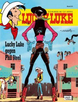 Lucky Luke (HC) 83: Lucky Luke gegen Phil Steel