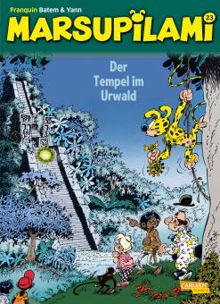 Marsupilami 23: Der Tempel im Urwald