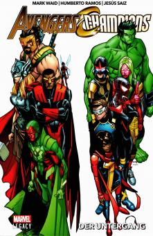 Avengers/Champions (Marvel Legacy) 1: Der Untergang (Softcover)