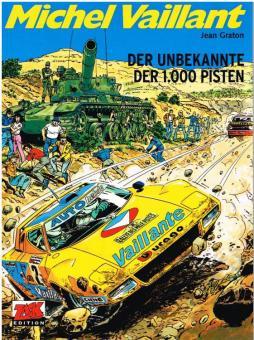 Michel Vaillant 37: Der Unbekannte der 1.000 Pisten