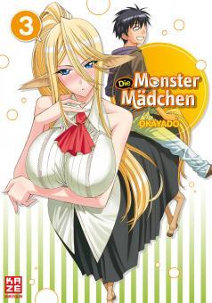 Monster Mädchen Band 3