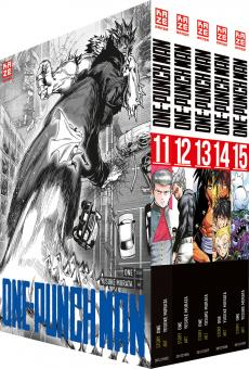 One-Punch Man Band 11-15 (im Sammelschuber)