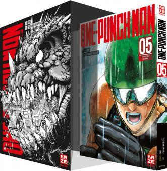 One-Punch Man 5: Strahlende Verlierer (mit Sammelschuber)