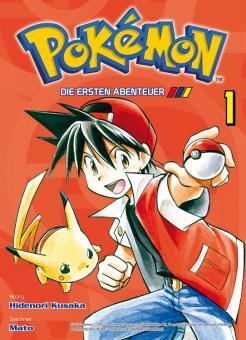 Pokémon - Die ersten Abenteuer Band 1