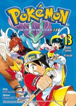 Pokémon - Die ersten Abenteuer 13: Gold, Silber und Kristall