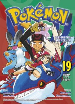 Pokémon - Die ersten Abenteuer 19: Rubin und Saphir