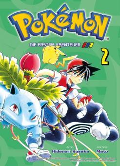 Pokémon - Die ersten Abenteuer Band 2