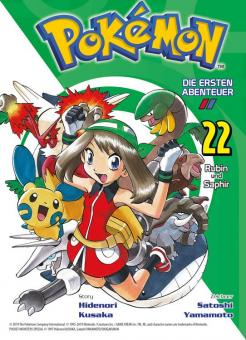 Pokémon - Die ersten Abenteuer 22: Rubin und Saphir