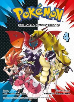 Pokémon Schwarz 2 und Weiß 2 Band 4