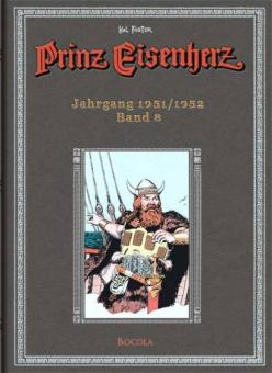 Prinz Eisenherz (Hal Foster-Gesamtausgabe) 8: Jahrgang 1951/1952