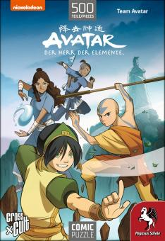 Comic-Puzzle: Avatar - Team Avatar