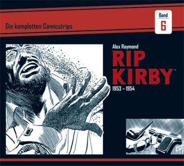 Rip Kirby - Die kompletten Comicstrips 6: 1953 - 1954