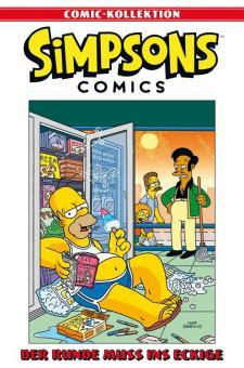 Simpsons Comic-Kollektion 8: Der Runde muss ins Eckige