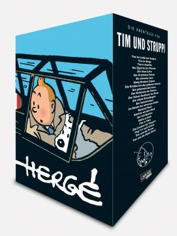 Tim und Struppi Gesamtausgabe (Hardcover, 24 Bände im Schuber)