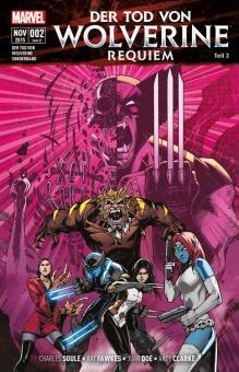 Tod von Wolverine Sonderband Requiem (Teil 2)